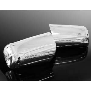 Fit Durable Chrome Trim Mirror Cover without LED Turn Signals Side