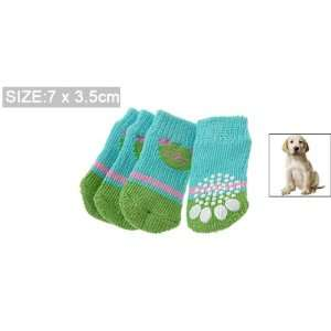 Lovely Cotton Bear Pattern Puppy Dog Socks (7 x 3.5cm)