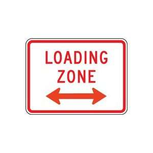 LOADING ZONE (PLAQUE) 18 X 24 Sign Engineer Grade