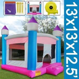 Huge 13 Ft Inflatable Bounce House Castle Bouncer with