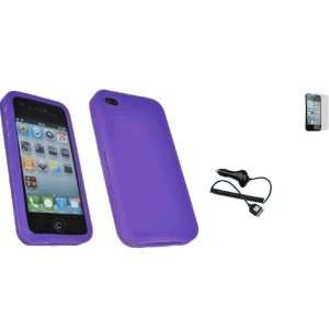 Mobile Palace   Purple silicone skin case cover pouch