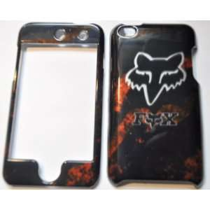 IPOD TOUCH 4 FOX RACING DARK FULL CASE/COVER/FACEPLATES