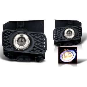 99 03 Ford F150 Halo Projector Fog Light Smoke Lense Automotive