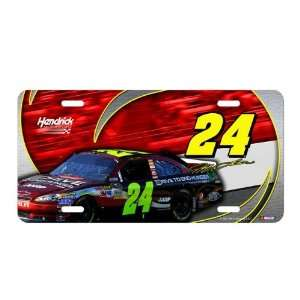 Jeff Gordon NASCAR Metal License Plate