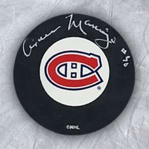 Canadiens Autographed/Hand Signed Hockey Puck