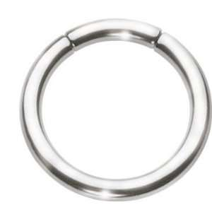 Medical Grade 316LVM Surgical Steel   Segment Ring   Low