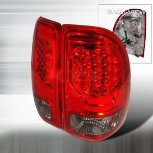 Xdodge Dodge Dakota Led Tail Lights /Lamps   Red Performance