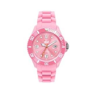 09 Sili Collection Pink Plastic and Silicone Watch Ice Watch Watches