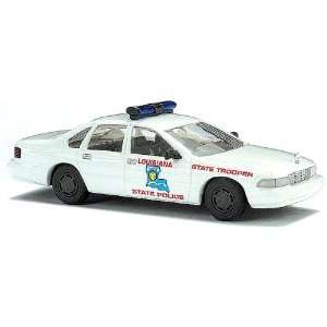 Busch HO (1/87) Louisiana State Police Chevy Caprice Toys & Games