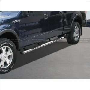 Black Horse Stainless Steel Oval Nerf Bars 09 11 Ford F 150