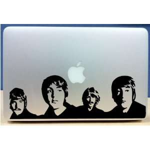 The Beatles Silhouettes   Vinyl Macbook / Laptop Decal