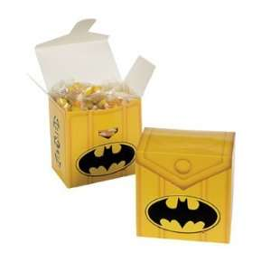 Batman™ Heroes Treat Boxes   Party Favor & Goody Bags & Paper Goody