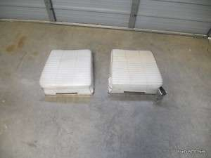 Genuine MoPar 1966 67 Dodge Charger Rear Seat Pair