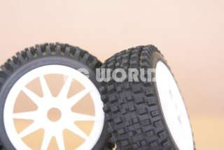 RC 1/8 CAR BUGGY TRUCK TRUGGY TIRES WHEELS RIMS SPIKE