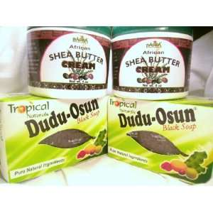 Dudu Osun Black Soap & African Shea Butter Cream