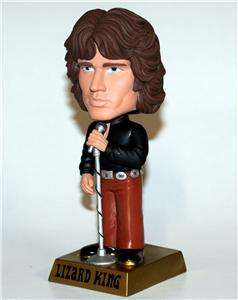 JIM MORRISON Doors Rock Band LIZARD KING BOBBLEHEAD New