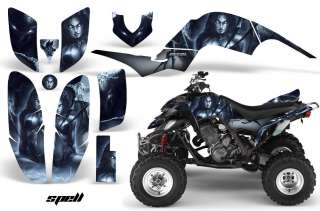 YAMAHA RAPTOR 660 GRAPHICS KIT DECALS STICKERS SPELL