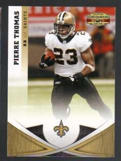 2011 Panini Gridiron Gear Football #115 Pierre Thomas New Orleans