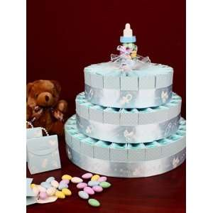 Its a Boy Baby Shower Favor Cake Kit   3 Layer Kit for