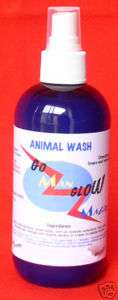 Organic Animal Wash Hot Spots Mange Dogs & Cats 32oz