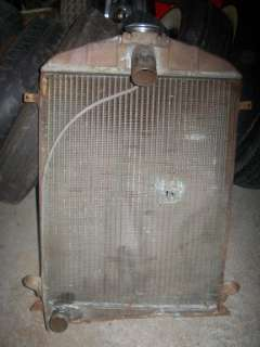 Ford Model A Coupe Radiator With Houseing Vintage Restoration