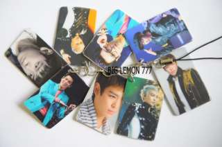 TOP ~ BIG BANG Mobile Phone Strap Keychain Keyring N7