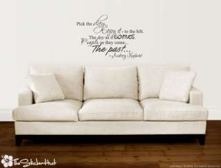 the Day Audrey Hepburn Quotes Wall Vinyl Stickers Decals 811